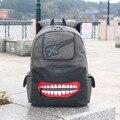 The new Tokyo Ghoul Shoulder bag canvas student cartoon computer bag LOGO trend big backpack 32 * 42 * 13 excellent quality