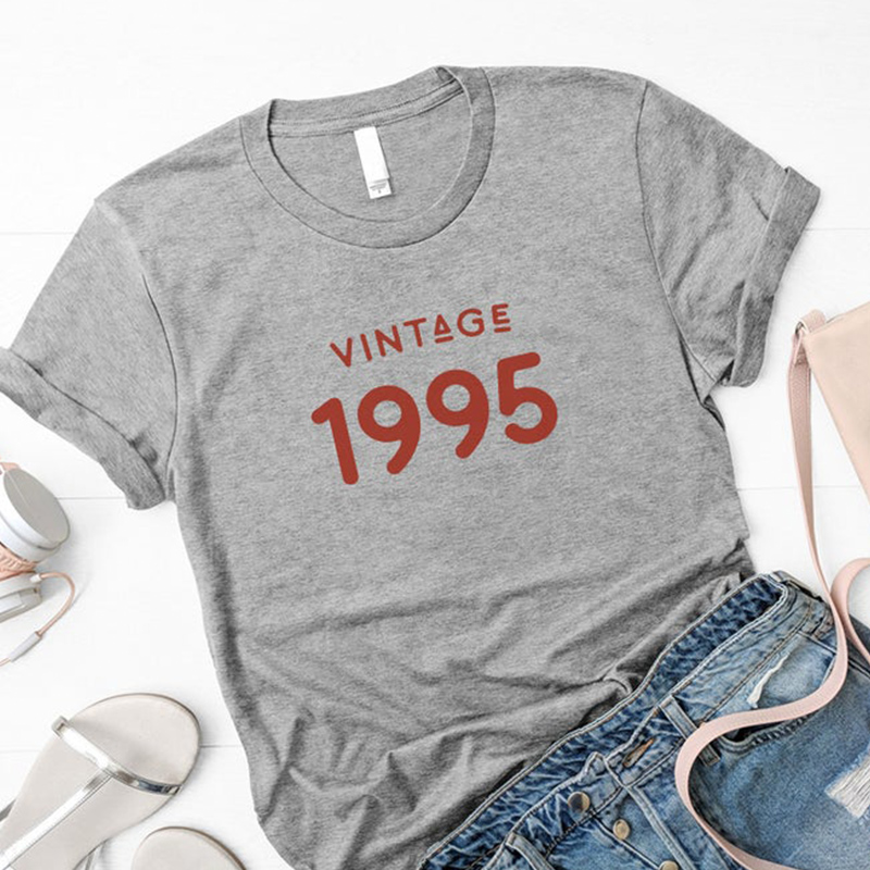 Aesthetic Cotton Short Sleeve Women Tshirt