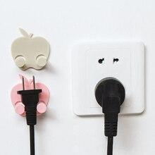 050 Creative hook wall socket power line receptacle multifunctional plug hook rack 4.5*2*5cm 5cm page 2