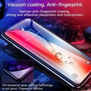 Image 2 - Hoco para apple iphone x xsmax xr hd cheio de filme vidro temperado protetor de tela cola protetora 3d cobertura completa proteção da tela