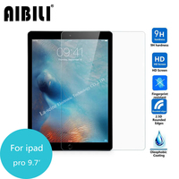 AIBILI For Apple Ipad Pro 9 7 Inch Tempered Glass Screen Protector Cover 2 5 9h