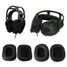 лучшая цена 2019 New Replace Eapads Earmuffs Cushion for Razer Tiamat 7.1/2.2 Over Surround Sound PC Gaming Headphone Headsets