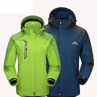 New Women Men Jacket Waterproof Outdoor Sport Coat Jaqueta Women Outerwear Windproof Camping Climbing Jackets Sportswear