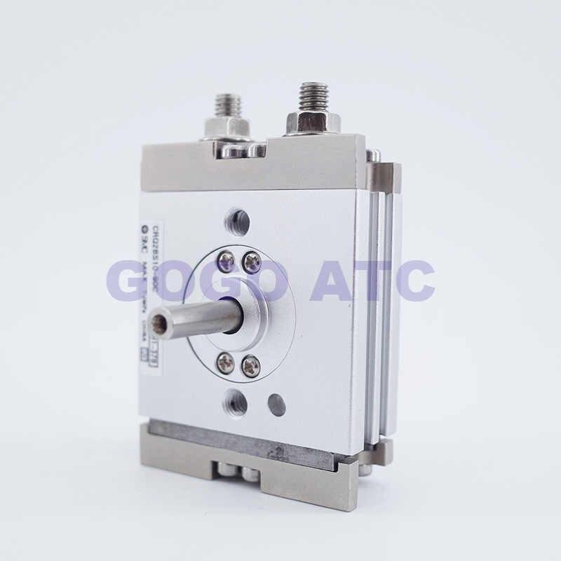 Компактная Поворотная цилиндрическая стойка и шестерня smc тип размер 10 мм CRQ2BS/CDRQ2BS 90 180 градусов с пневматической подушкой магнит пневматические приводы