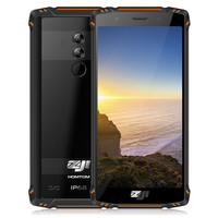 HOMTOM ZOJI Z9 Fingerprint 4G Smartphone 6GB 64GB IP68 5500mAh Waterproof Mobile Phone Heart Rate Android 8.1 5.7inch Face ID