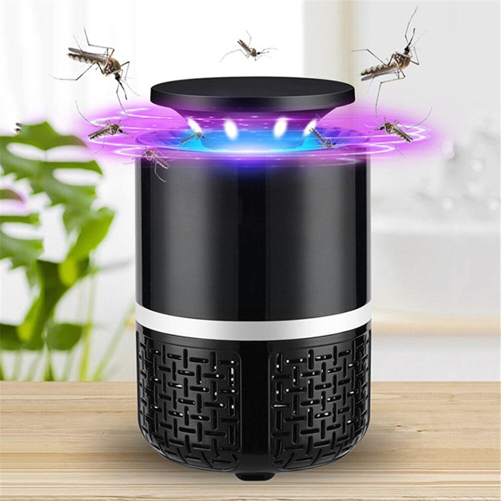 Dropship Casa Mosquito Elétrico Lâmpada Assassino Do Mosquito Pragas Rejeitar Repelente USB Arquivos de Segurança Anti Mosquito Repeller Assassino Do Inseto