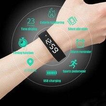Zgo 2018 несколько функциональных смарт часы фитнес часы мониторинг сна водонепроницаемые спортивные часы шагомеры светодиодные часы Дисплей браслет для мужчин, женщин,смарт часы мужские наручные цифровые электронные.
