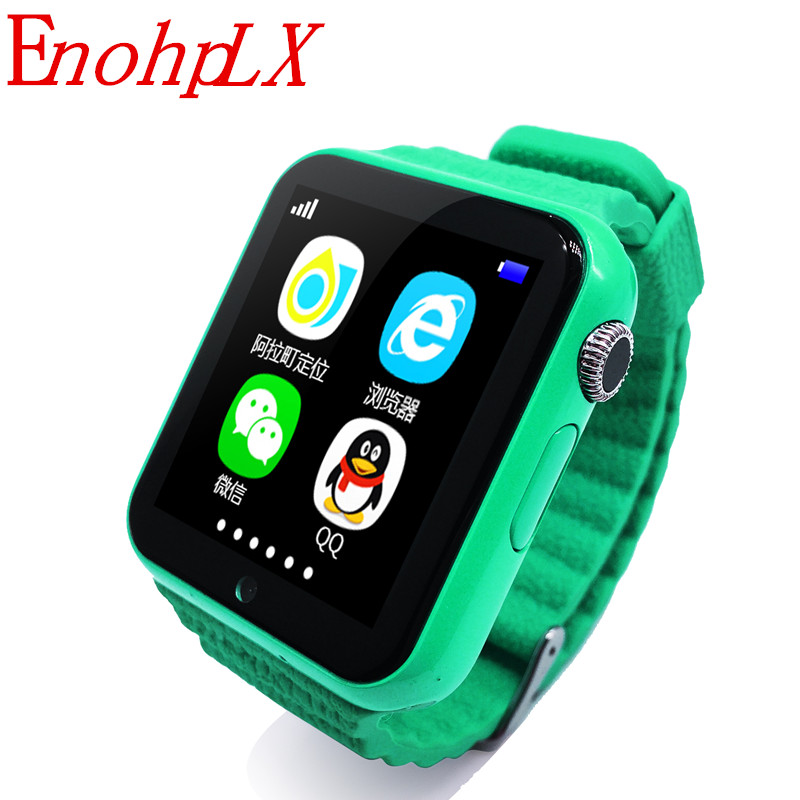 EnohpLX Bluetooth Smart Watch GPS Tracker Smartwatch Anti Lost Sleep Monitor Pedometer for Android IOS Phone Baby Gifts Watch