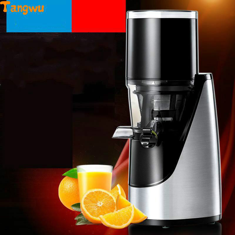 Free shipping Juice machine household electric multifunctional slow fruit juice extractor Juicers whole slow juicer 300w 75 cm fruits low speed juice extractor juicers fruit machines