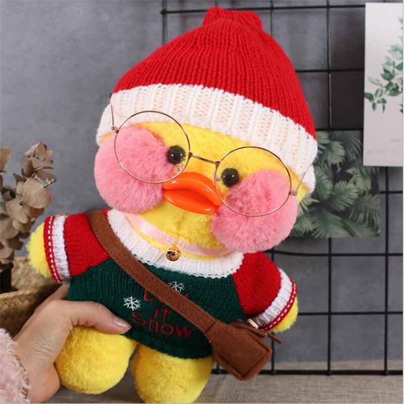 30cm Korean Netred Hyaluronic Acid Little Yellow Duck Doll Ducks Lalafanfan  Ducks Plush Toys Ducks Dolls Birthday Gift Girls