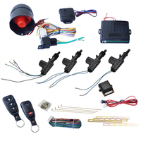 CARCHET Central Locking Remote Keyless Entry Security Car Alarm 4 Door Power Lock Burglar Alarm System Security Car Electronics