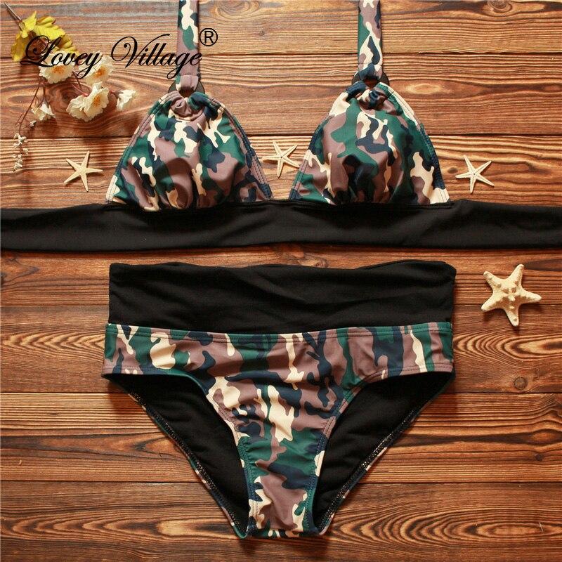 2017 Camouflage Bikini Women' Bathing Suit Sexy