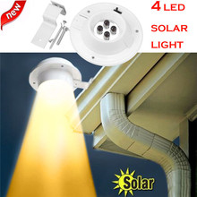 New LED Solar Powered Gutter Light Outdoor/Garden/Yard/Wall/Fence/Pathway Lamp no electricity required by sunlight