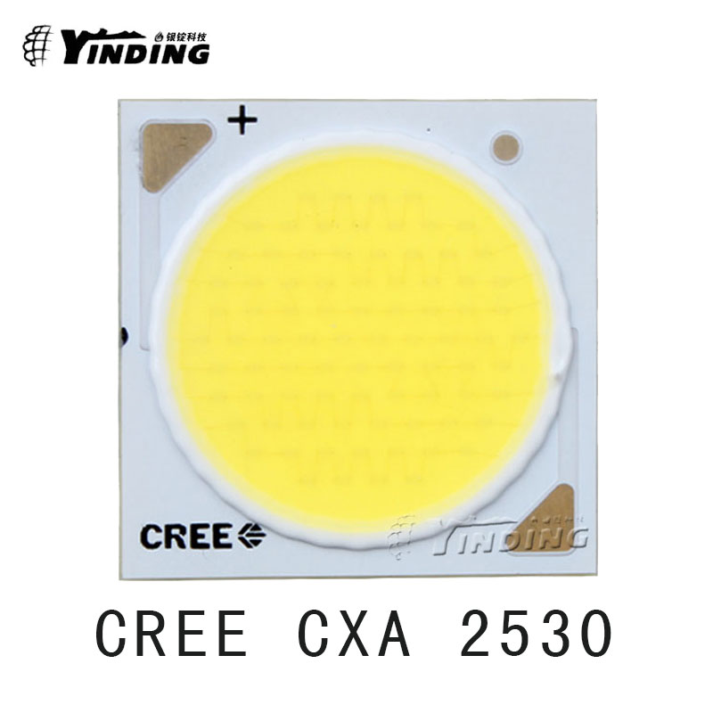 Cree XLamp CXA 2530 COB 37V Cold White 6000-6500K 55W Hight Power LED Emitter Blub Lamp Light Chip Heatsink