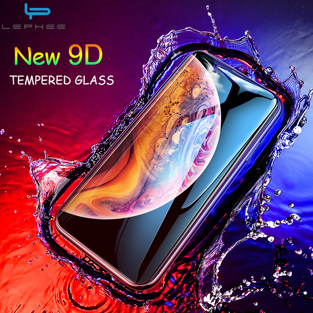 Tempered Glass For iPhone 11 Pro XS Max Screen Protector For iPhone X Glass On The For iPhone XS XR 11 SE 2020 Protective Glass