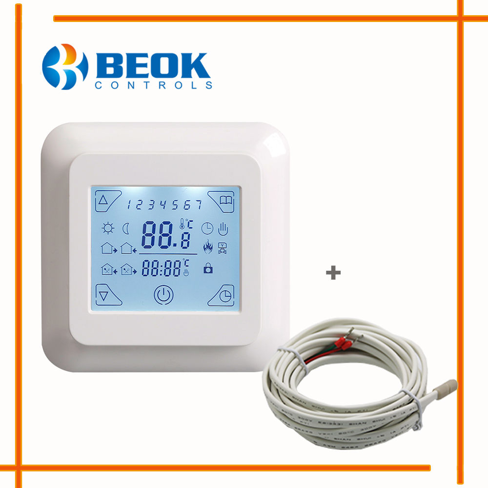 Aliexpress Com Buy Beok Electric Heating Thermostat