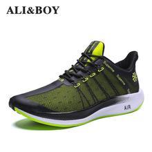 Hommes Chaussures de Course 2019 Nouveau Hommes Sneakers Plus Taille Sport Chaussures Hommes Lumière Maille Hiver Hommes Chaussures Chaussure Homme Plus taille 39-47