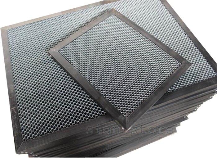 Nid d'abeille Travail Lit Table CO2 50 W 60 W Tube Laser Graveur Cutter 3050 Shenhui SH 3050 350 550x350mm