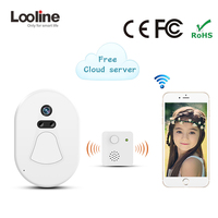Phone Intercom IP Doorbell Camera Wifi Interfone Looline Mini Phone Free Cloud Storage Battery Doorphone Alarm