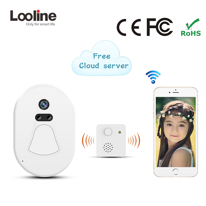 Phone Intercom IP Doorbell Camera Wifi Interfone Looline Mini Phone Free Cloud Storage Battery Doorphone Alarm Push Door Viewer