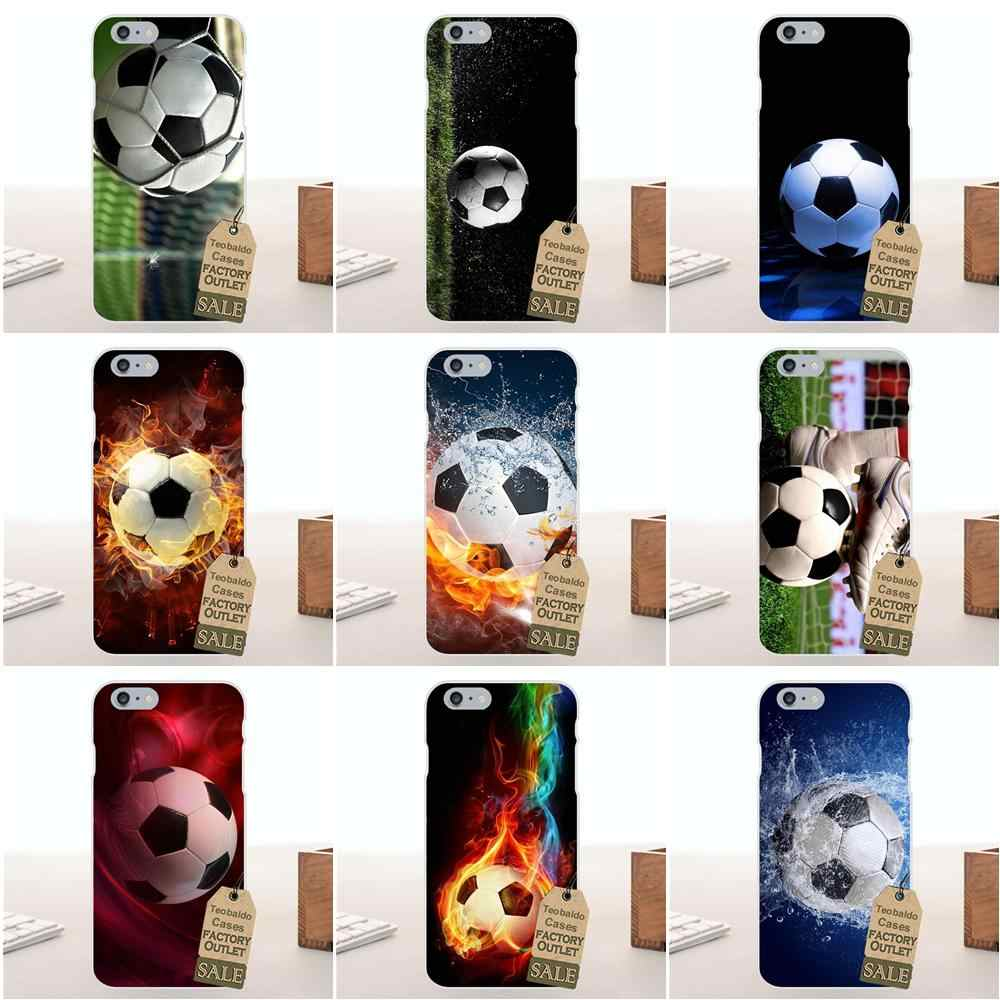 Soft Fashion Case Cover Voor Huawei G7 G8 Honor 5A 5C 5X6 6X7 8 V8 Mate 8 9 P7 P8 P9 P10 Lite Plus Fire Voetbal Voetbal