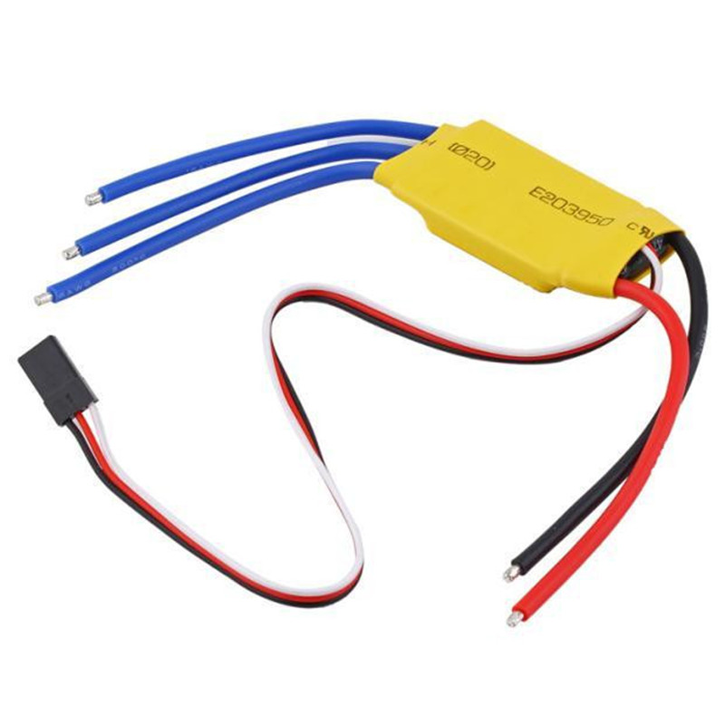 30A Brushless Motor Speed Controller RC BEC ESC T-rex 450 V2 Helicopter Boat h625 pnp spike fiber glass electric racing speed boat deep vee rc boat w 3350kv brushless motor 90a esc servo green