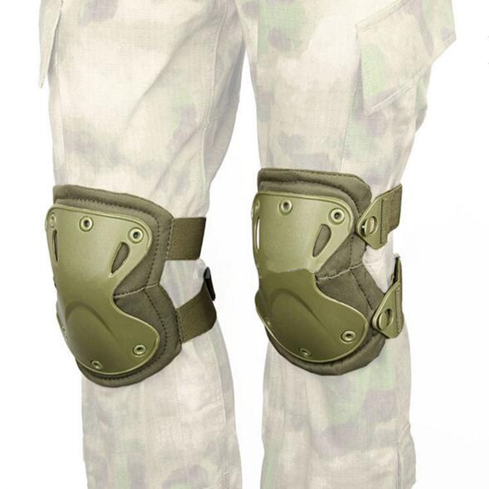 knee pads for sports 4Pcs Sports Safety Tactical Protective Knee Pad ACU Digital Elbow Support Airsoft Skate Scooter Kneepads