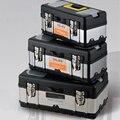 Boîte à outils Portable outils de voiture boîte de rangement grande capacité matériel boîte à outils électrique pour outil de réparation de voiture L / M|portable tool box|tool boxes portablebox tool box -