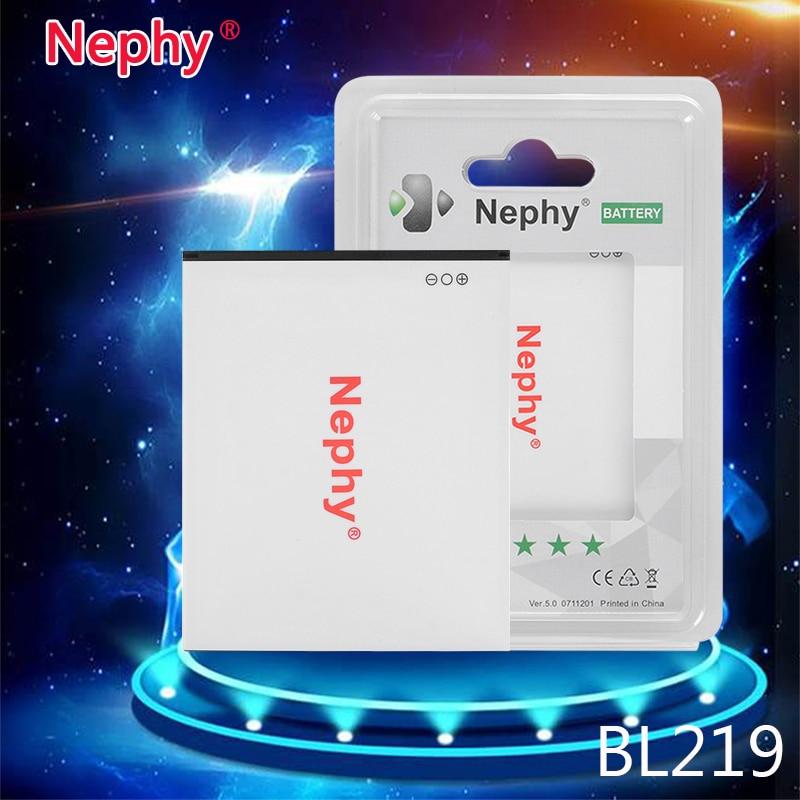 Nephy Новинка 2017 года BL 219 bl219 Батарея для <font><b>Lenovo</b></font> A880 s856 A889 a890e s810t A850 + <font><b>A916</b></font> 2500 мАч мобильного телефона перезаряжаемые Расширенный