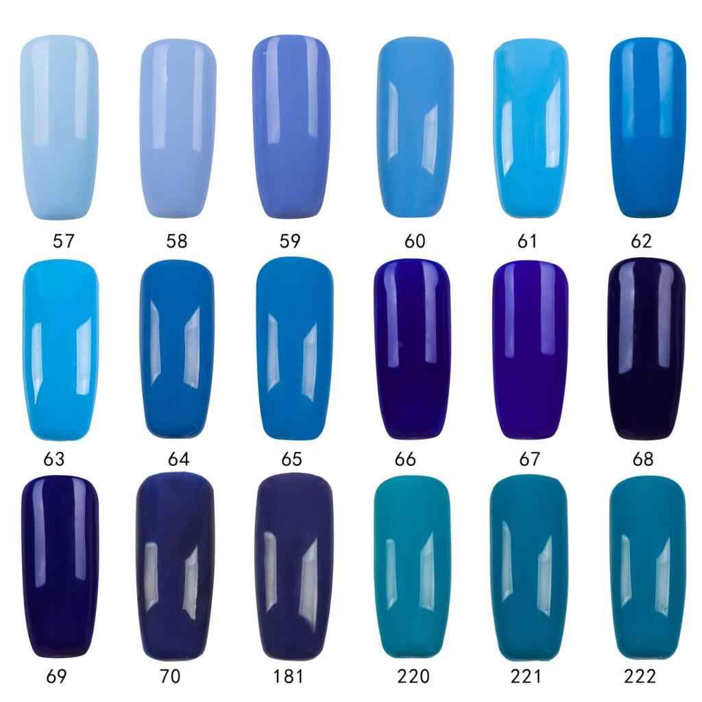 Girl2girl 8 мл личная гигиена гель для ногтей лак для ногтей маникюр Гель-лак для ногтей синий набор