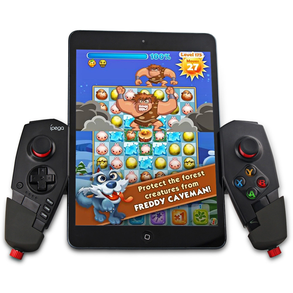 New IPEGA PG-9055 PG 9055 Red Spider Wireless Bluetooth Gamepad Game Controller di Gioco Joystick Per Android IOS Phone Tablet PC