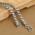 Ожерелье ручной работы таиланд 925 серебряное ожерелье ручной работы дизайнер старинных Neckace для подвески