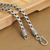 Necklace Handcrafted Thailand 925 Silver Necklace Handmade Designer Vintage Sterling Silver Neckace for Pendants