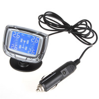 Promotion InCTPMS EXT01 TPMS LCD Auto Car Tire Tyre Pressure Monitor Monitoring System Pressure Gauge With