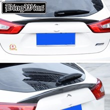 Car Styling Rear Trunk Tail Gate Cover Trim Lid Bezel HATCH DOOR Trim FOR Nissan Qashqai J11 2015 2016 2017 Auto Accessories