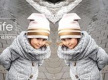 หมวกเด็กใหม่ฤดูใบไม้ผลิ/ฤดูหนาวเด็กหมวกถักหมวกผ้าฝ้าย Beanie เด็กวัยหัดเดินเด็กอ่อนเด็กการ์ตูนหมวก