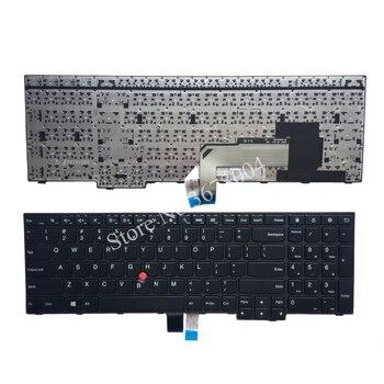 ใหม่สำหรับ IBM Lenovo Thinkpad E550 E550C E555 E560 E565 คีย์บอร์ด Teclado US ภาษาอังกฤษ 00HN000 00HN074 00HN037