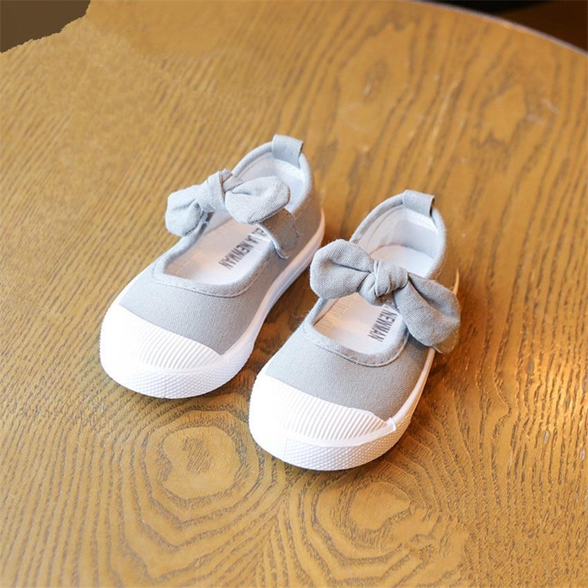 BOKEN Kids Baby Girl Dorywczo Brezentowych Butów Dzieci Miękkich - Obuwie dziecięce - Zdjęcie 3