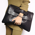 2017 Designer vintage Women Leather Handbags Day Black Clutches Bags Messenger bolsos mujer Envelope Evening Party Bags