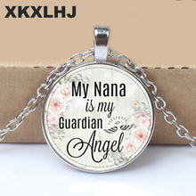 2019 New Grandma Is My Guardian Angel, Memory Charm, Lost Grandma, Necklace