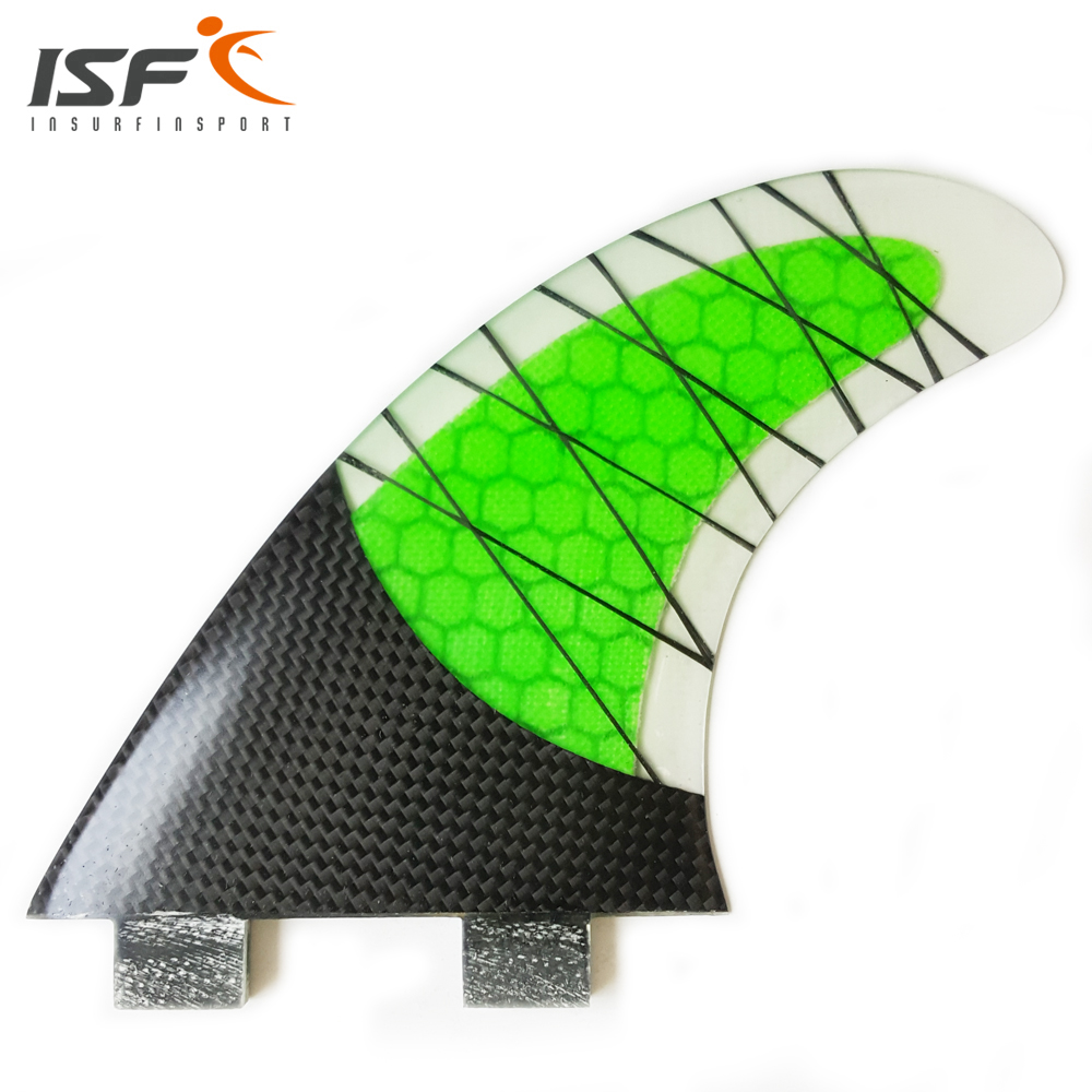 NEW Style FCS Fin Carbonfiber Green Surfboard Fins prancha quilhas de Surf Fins size G5 after success fin de siecle anxiety and identity