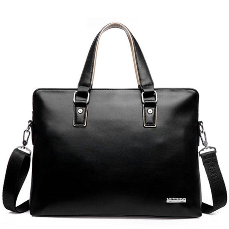 Popular Mens Office Bag Leather-Buy Cheap Mens Office Bag Leather ...
