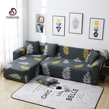 Parkshin funda de sofá elástica antideslizante, nórdica, para las cuatro estaciones, de poliéster, todo incluido, 1/2/3/4 asientos