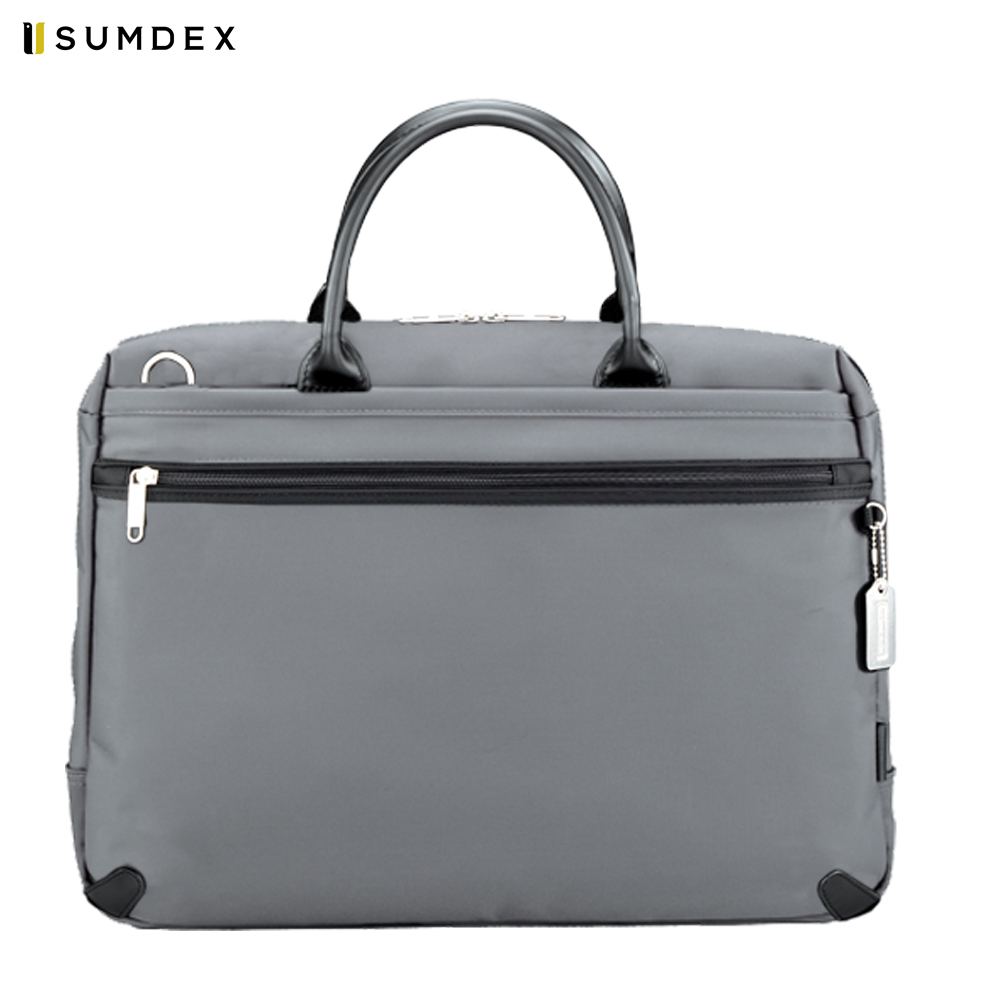 Фото - Laptop Bags & Cases Sumdex SUMNON936GY for laptop portfolio Accessories Computer Office for male female 2017 hot handbag women casual tote bag female large shoulder messenger bags high quality pu leather handbag with fur ball bolsa