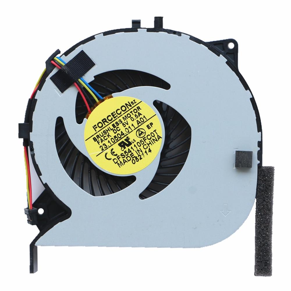New Cpu Fan For Sony EG-111T VPCEG-211T VPCEG-112T VPCEG-212T Cpu Cooling Fan FORCECON DFS541105FC0T FACK 23.10504.011