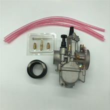 High Quality Motorcycle 30mm Carburetor  Racing Parts With Power Jet for Keihin Carb PWK pwk 40mm pwk40 carburetor for honda cr500r cr500 cr 500r 500 r kx500 replace ofkeihin carb