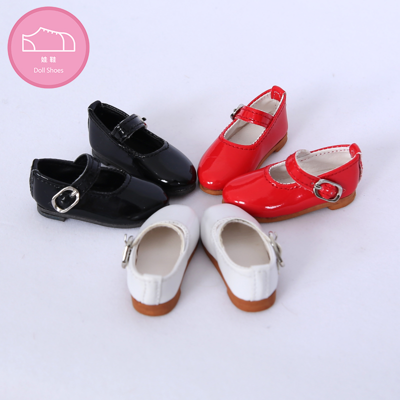 Shoes For Doll BJD 1 Pair 6.2cm PU Leather Fashion Mini Toy Lace Canvas  Shoes 1/4 Doll For Fairyland Luts Doll Accessories  Luo