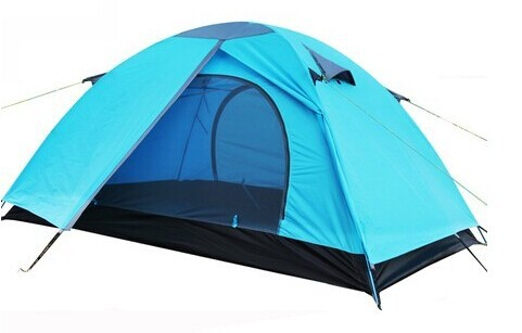 Weilingyang High quality Outdoor c&ing Green/Blue/Orange 2-Person Dome tents Barraca  sc 1 th 179 & Weilingyang High quality Outdoor camping Green/Blue/Orange 2 Person ...
