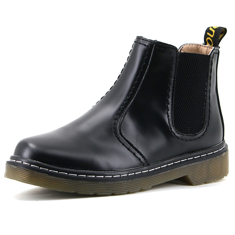 Aleader New Fashion Women Ankle Boots Martin Shoes Style Autumn Leather Chelsa Boots For Women Casual Shoes Brand Botas Mujer vtota boots women fashion autumn martin boots warm women shoes ankle boots for women winter botas mujer wedges ankle boots d23