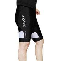 WOSAWE Men's 3D Padded Cycling Shorts Shockproof MTB Road Bike Shorts Reflective Bicycle Short Pants Bermuda Ciclismo Shorts